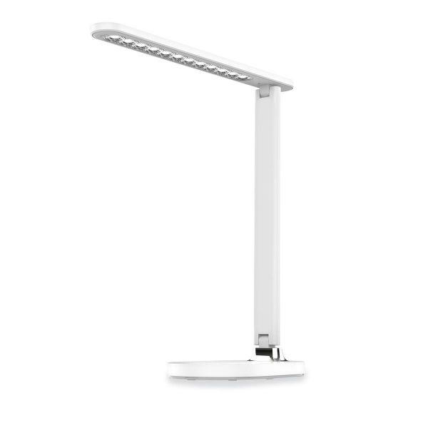 Настольная светодиодная лампа PLATINET PDL081W 18W белая с беспроводной зарядкой
