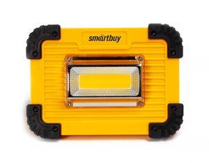 Рабочий фонарь с солнечной батареей, Smartbuy