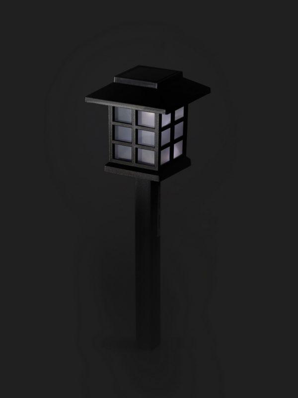 Садовый светильник Smartbuy на солнечной батарее, пластик, 8,6x8,6x38 см (SBF-112) 5