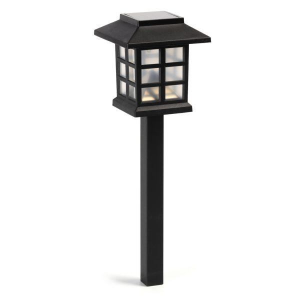 Садовый светильник Smartbuy на солнечной батарее, пластик, 8,6x8,6x38 см (SBF-112) 1