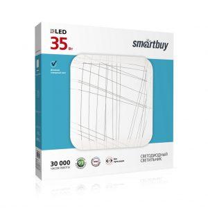 Светодиодный потолочный светильник (LED) Line 35W, Smartbuy