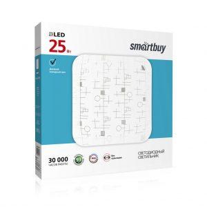 Светодиодный потолочный светильник (LED) Loongo 25W, Smartbuy