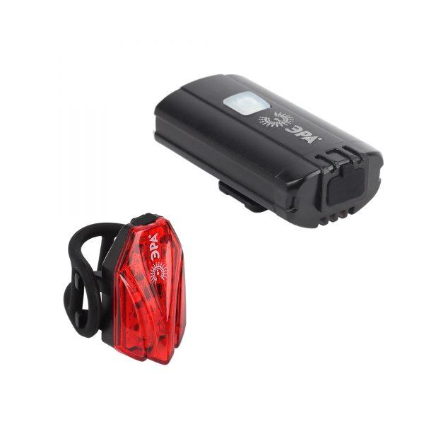 VA-801 Фонарь ЭРА Вело 2 в 1 Основной CREE XPG + подсветка SMD, mocro USB, 800mA/ч., бл 3